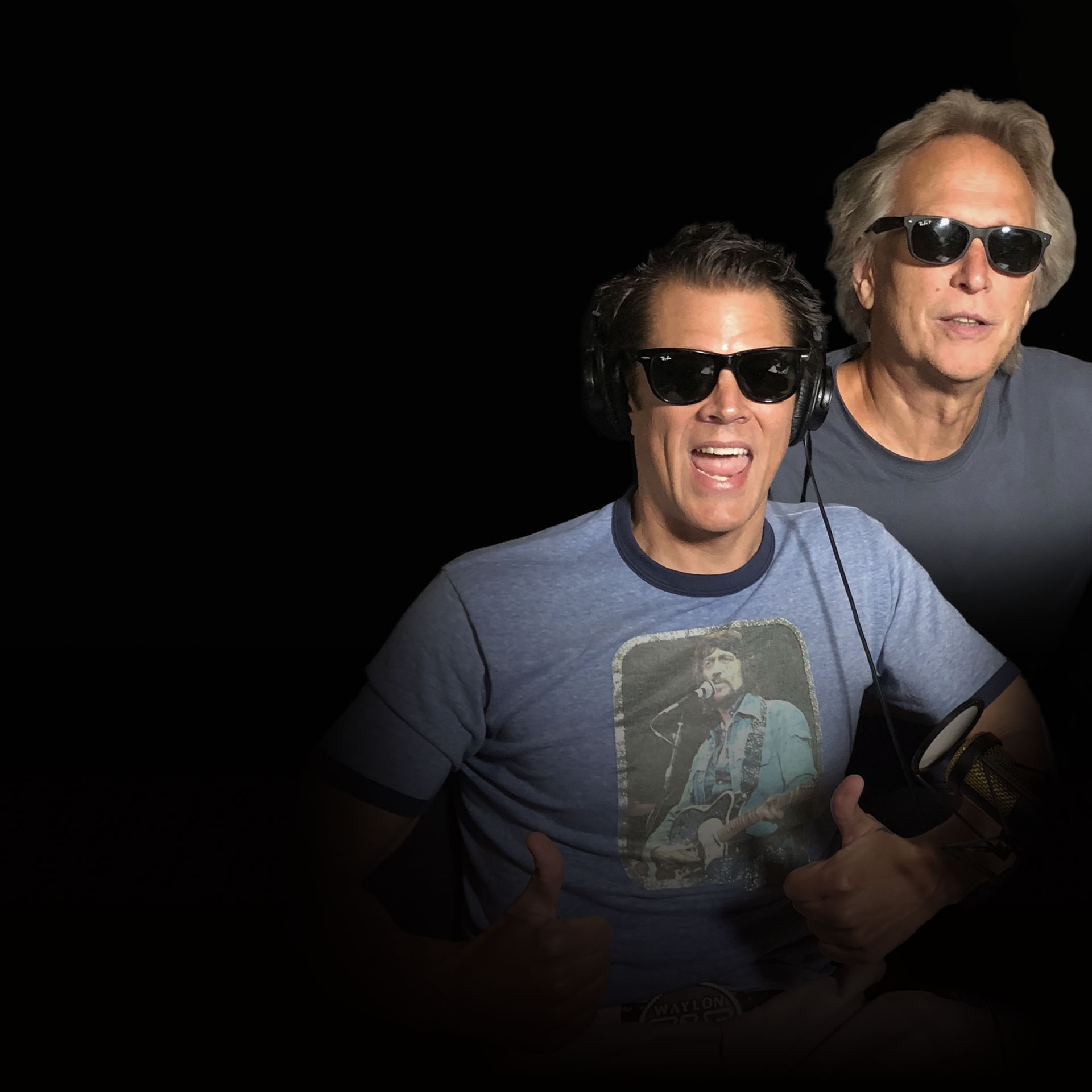 Johnny Knoxville & Roger Alan Wade